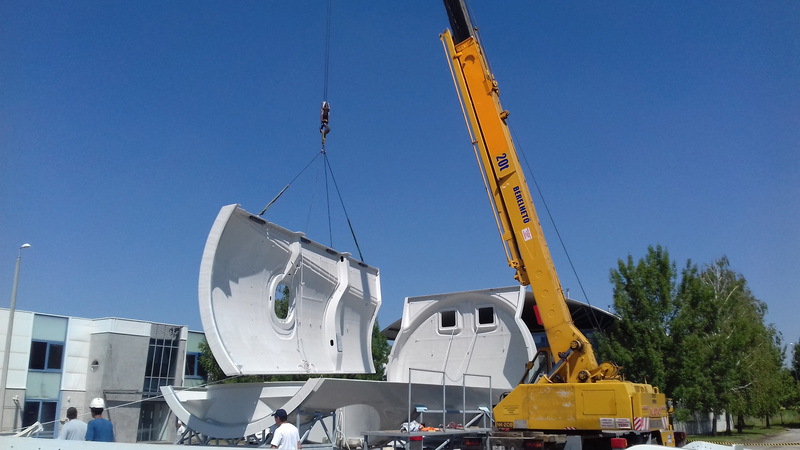Ilyen szélerműházakat gyárt Kaposváron a Metyx Hungary