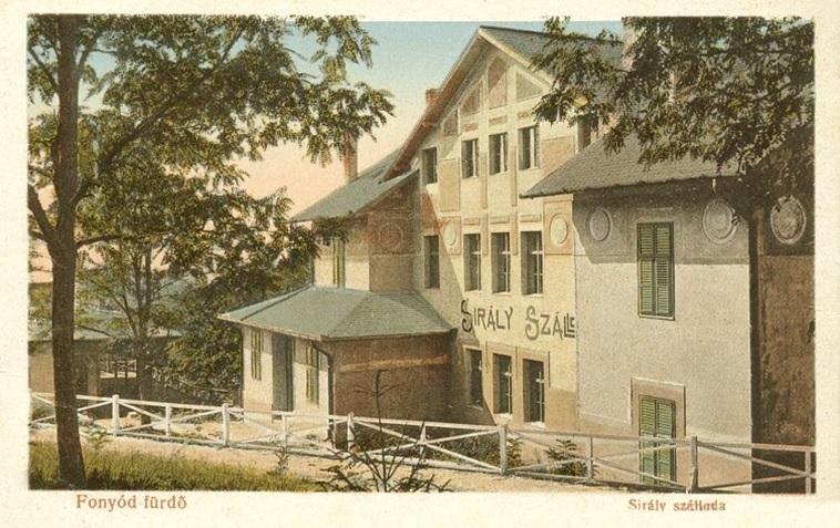 A Sirály Szálló egy 1910-es képeslapon (szellemvarosok.blog.hu)