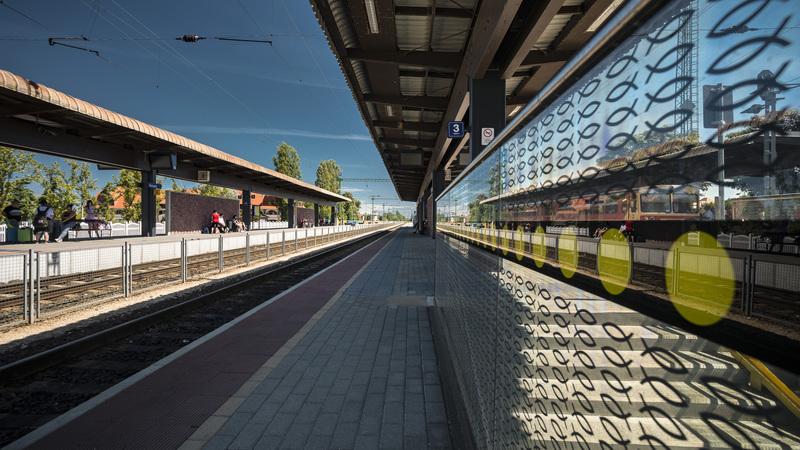 Fonyódi vasútállomás (Fotó: MÁV Zrt.)