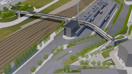 Ilyen lesz a Kaposvári Közlekedési Központ