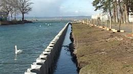 Jól halad a siófoki kikötőfelújítás