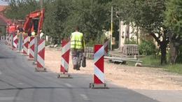 Félpályás korlátozás lesz két somogyi településen is