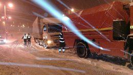 Nem múlt el baleset nélkül az újabb havazás