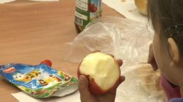 Gyümölcsöt az iskolákba