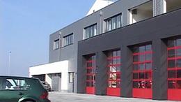 Új tűzoltólaktanyát avattak ma Marcaliban