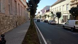 A Dózsa György utca is megújult