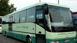 Új autóbuszok állnak forgalomba a dél-dunántúli régióban