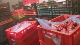 Három és fél tonna húst foglaltak le