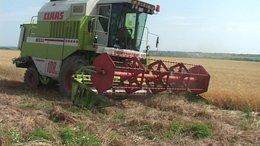 Megállt az aratás