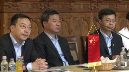 Kínai vendégek a Városházán