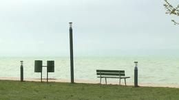 Rekordmagas vízállás a Balatonnál
