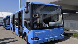 Két új elektromos busz érkezik Kaposvárra