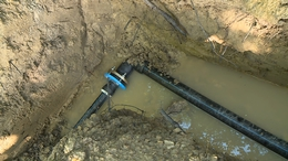 Csőtörés miatt volt vízhiány néhány kaposvári utcában