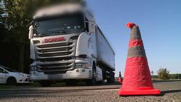 Mától kiszűrik a megpakolt kamionokat