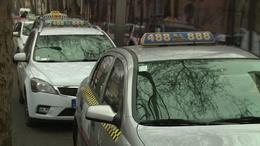 Nem minden taxisnak indult jól az év