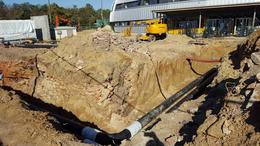 A Béke-Füredi lakótelepen is megújul a távhővezeték