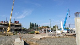 Kezdődik a hídpilon építése