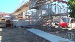 Épül-szépül az Esterházy híd