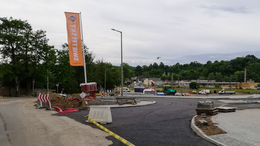 Két hétre lezárják a Béla király utca cukorgyár előtti szakaszát