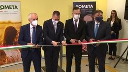 Új üzemet avatott a Kometa