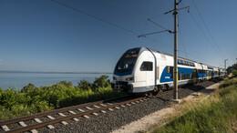 Újabb emeletes vonat áll forgalomba a Balatonnál