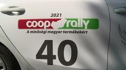 Kaposváron járt a Coop Rally mezőnye