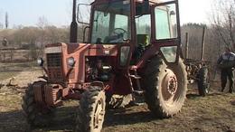 A falu traktora