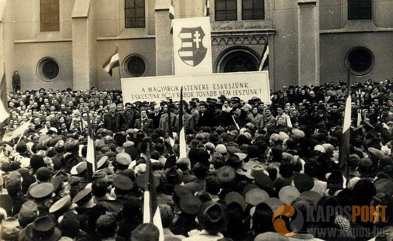 Nézze meg az 1956. október 30-án készült képeket!