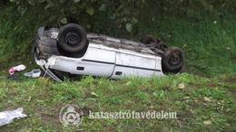 Fotókon a tegnap esti és ma reggeli balesetek