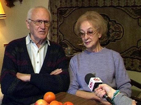 Ozsváth Ferenc és felesége