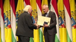 Dr. Kopa János kapta idén a Szabadságért Kaposvár Emlékérmet