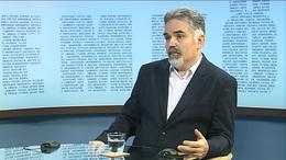 Lőrincz Sándor író, újságíró volt stúdiónk vendége