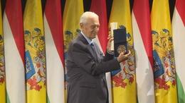 Dr. Debreczeni László kapta a Szabadságért Kaposvár Emlékérmet