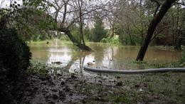 Fotókkal: elöntötte a víz a Somogy megyei községet