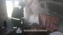 Munkával indult a hét a kaposvári tűzoltóknak
