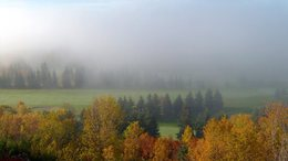 Változóan felhős, párás, késő őszi idő!