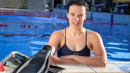Varga Krisztina szintet úszott