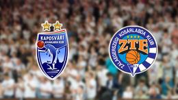 Nézze élőben a Kaposvári KK - ZTE mérkőzést!