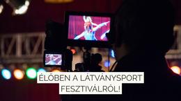 Élőben a Látványsport Fesztiválról!