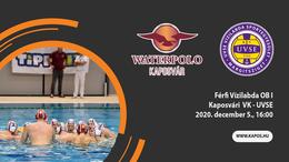Nézze élőben a KVK - UVSE mérkőzést