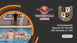 Nézze élőben a Kaposvári VK - PVSK meccset!
