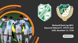 Nézze élőben a Kaposvári Rákóczi - Győr találkozót!