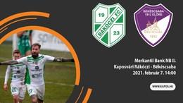Nézze élőben a Rákóczi - Békéscsaba mérkőzést!
