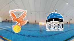 Nézze élőben a Kaposvári VK - Pécs mérkőzést
