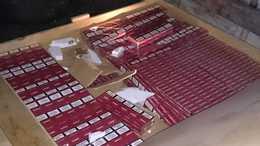 15.000 doboz csempészcigit foglaltak le