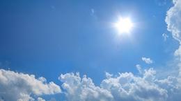 Egyre több napsütés!