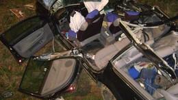 Két súlyos sérült - teherautóba rohant egy autó Somnál