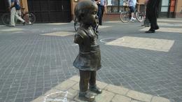 Fotókkal! Brutális szoborgázolás a belvárosban