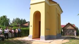 Felszentelték a 111 éves Kecelhegyi Kápolnát