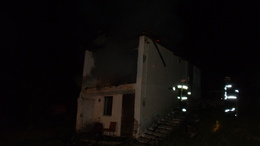 Leégett egy hétvégi ház Kaposváron